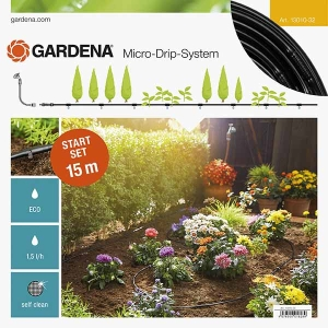 Above Ground Drip Irrigation For Rows Of Plants Starter Set S