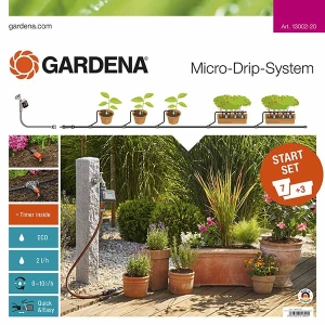 Microdrip Start Set M For Flower Pots With Water Control
