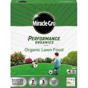Miracle Gro Perfom Org Lawn Food 100M2