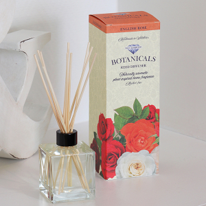 Botanicals Reed Diffuser Kit English Rose 200ml
