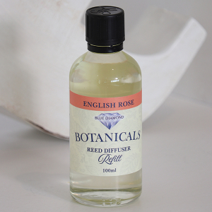 Botanicals Reed Diffuser Refill Oil English Rose 100ml