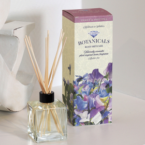 Botanicals Reed Diffuser Kit Violet And Sweetpea 200ml