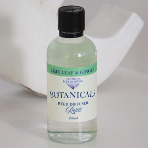 Botanicals Reed Diffuser Refill Oil Lime Leaf And Ginger 100ml