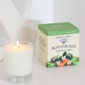 Botanicals Candle Lime Basil+Mandarin 30cl