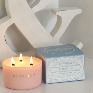 Maison Tranquille Candle Pink Pomegranate