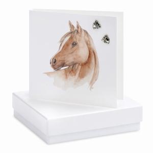 Earrings Horse