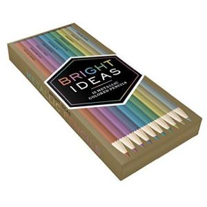 Bright Ideas 10 Metallic Coloured Pencils