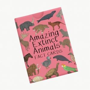Amazing Extinct Animals Fact Cards