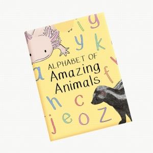 Alphabet Of Amazing Animals Flash Cards