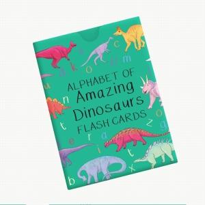 Alphabet Of Amazing Dinosaurs Cards