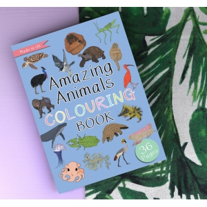 Amazing Animals Colouring Book