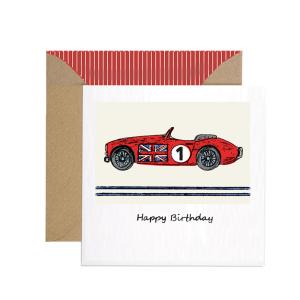 Apple & Clover Birthday Card