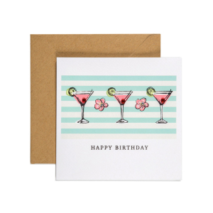 Apple & Clover Birthday Card