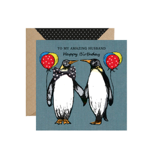 Apple & Clover Husband Birthday Card