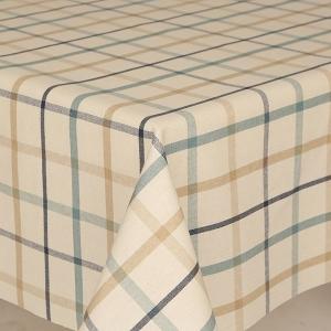 Table Cloth Mirha Tweed Blue Check