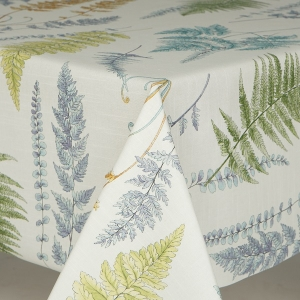 Table Cloth Loneta Multi Fern