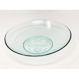 Ecovintage Large Bowl Clear