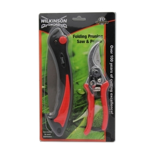Folding Saw and Pruner Set