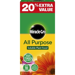 Miracle Gro All Pur Plant Food + 20%  Free 1kg