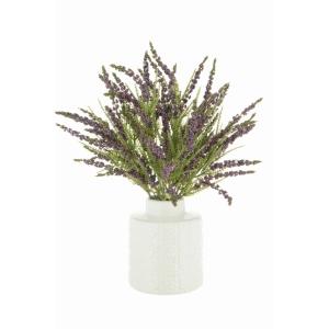 Grape Hyacinth In Ripple Vase