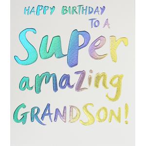 Wow Grandson Birthday