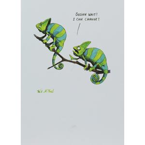 Colourful Mind Chameleons