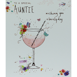 Lemon Sorbet Auntie Birthday