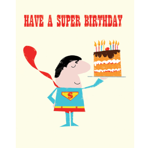 Ink Press Have A Super Birthday