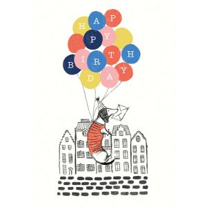 Frank Happy Birthday Balloons