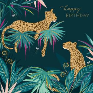 Sara Miller Happy Birthday Leopards