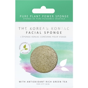 Face Puff With Green Tea