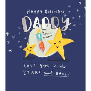 Daddy Love You To The Stars