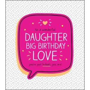 Daughter Big Birthday Love
