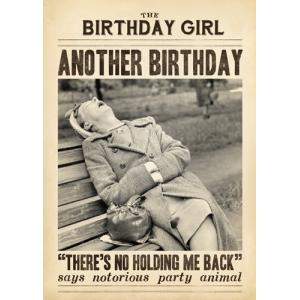 Another Birthday Women Asleep