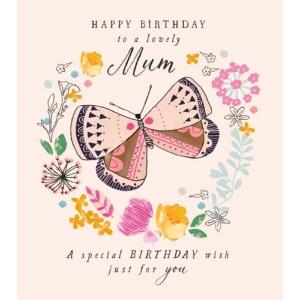 Butterfly Lovely Mum