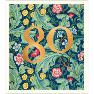 80 William Morris Pattern