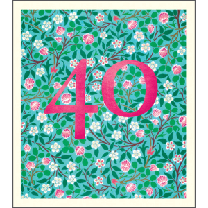 40 William Morris Pattern