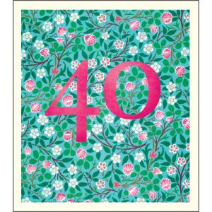 40 William Morris Pattern