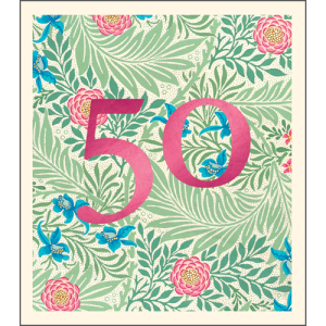 50 William Morris Pattern