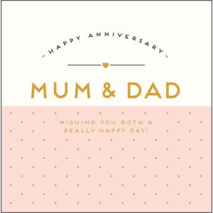 Mum & Dad Happy Anniversary
