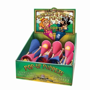 Pirate And Princess Pop Up Puppets