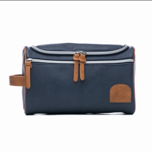 Navy And Tan Bee Hang Up Caddy