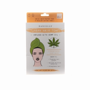 Hemp Oil Infused Hair Turban