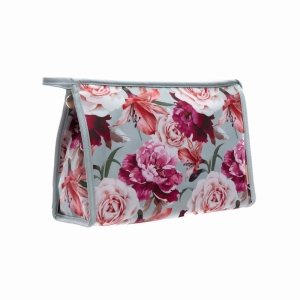 Vintage Garden Tall Cosmetic Travel bag