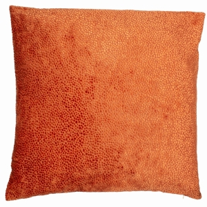 Bingham Cushion Silver Orange