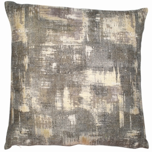 Gold And Grey Foil On Linen