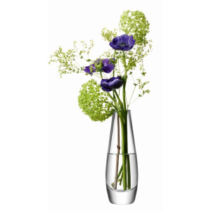 Flower Single Stem Vase Clear