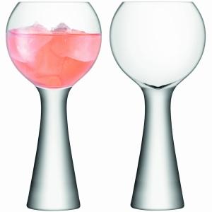 LSA Wine Glass Balloon Moya Clear Set Of 2