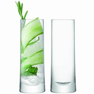 LSA Gin Tumbler Clear Set Of 2