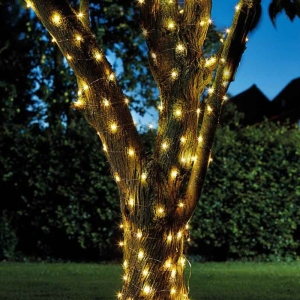 Solar Firefly String Lights 100 Warm White